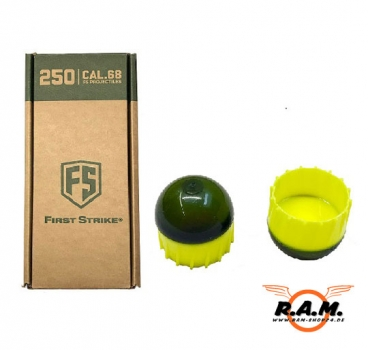 First-Strike Sniper 250er Pack für z.Bsp. Milsig, T15, u.v.a., SMOKE/YELLOW/YELLOW