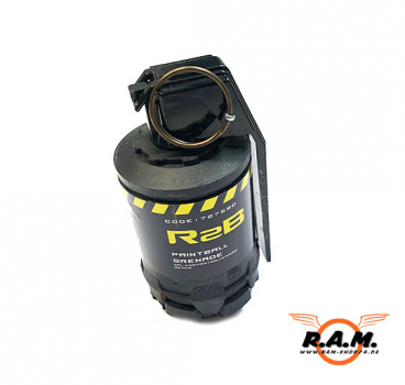 Taginn R2B Paintball / Airsoft Farb Handgranate