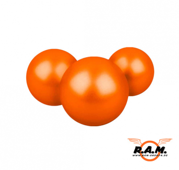 Gummigeschosse ECO Rubberballs 100 Stück Orange cal. 0.68