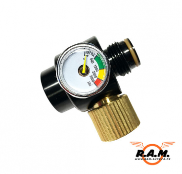 High Pressure Druck Regulator verstellbar 0-2200psi