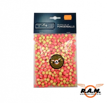 RAM Battle Dust Powder Balls, Powderballs pink Kaliber 0.43