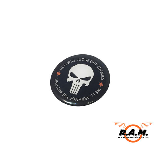 Punisher Outdoor Gel Aufkleber Deluxe Von Solidcore