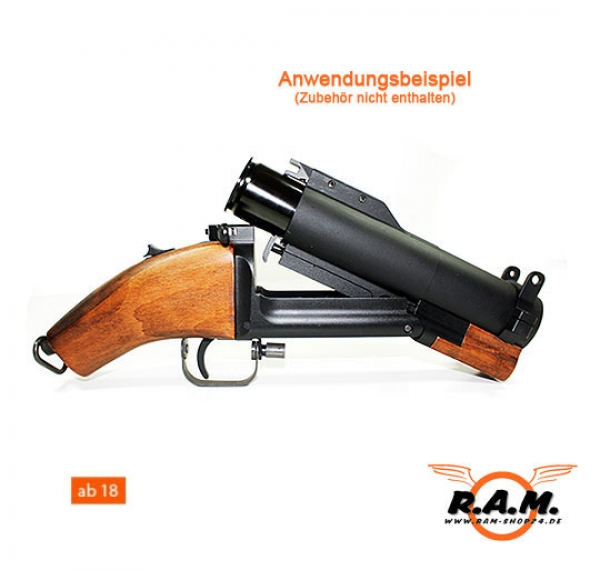 Granatwerfer M79 Abgesägte Version (Sawed Off) ultra Kurz original King Arms