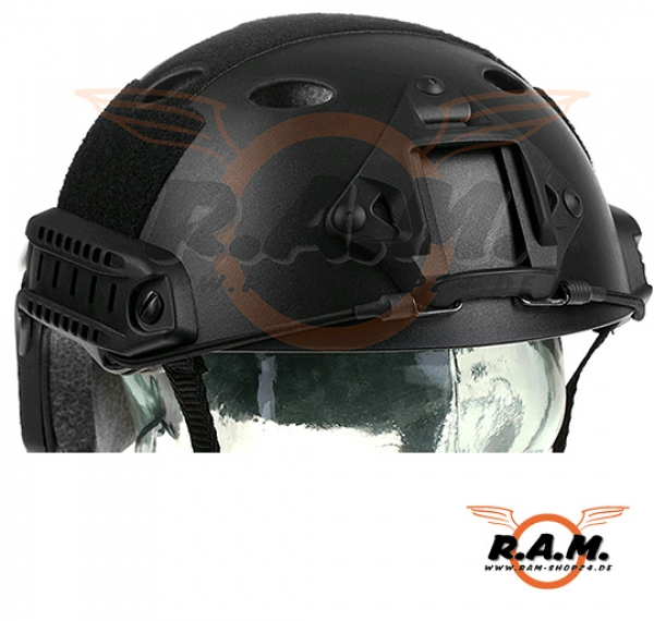 FAST Helm PJ Type Eco Version schwarz