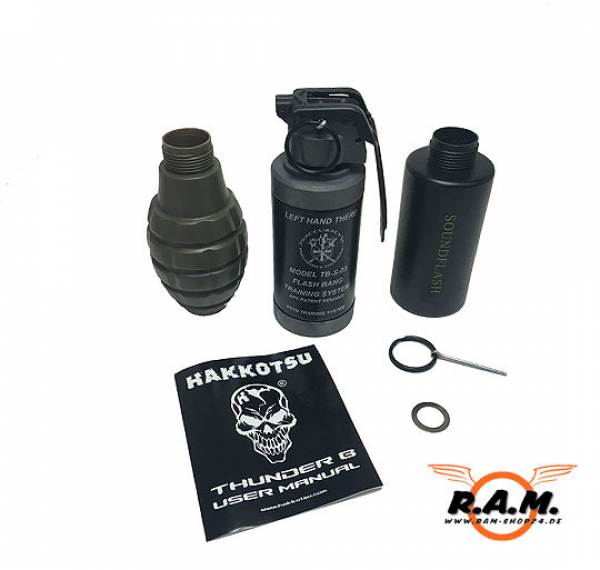 Co2 Handgranate Thunder B GEN. II 120dB Trainingsgranate Set