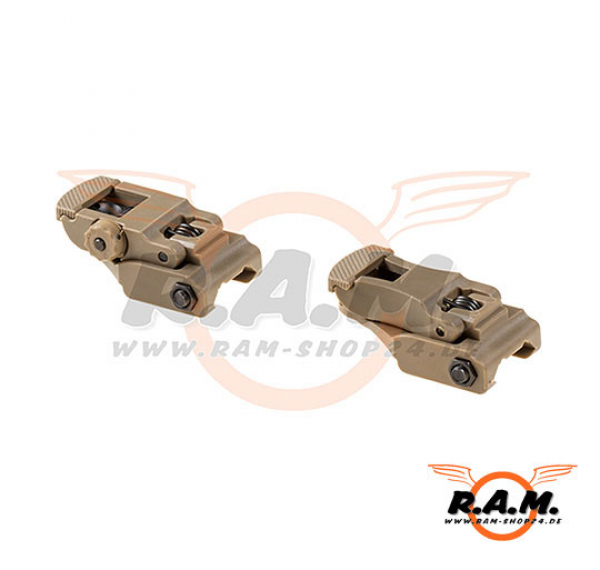 Original Milsig - Front & Rear Sight Set, Desert