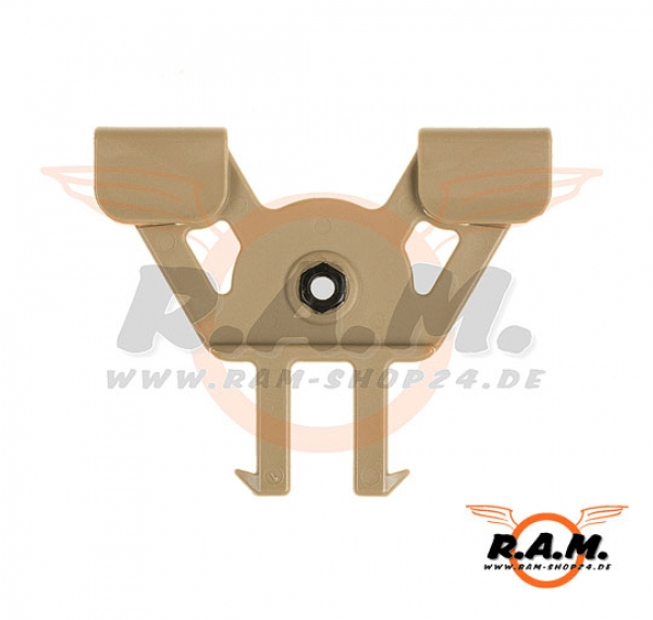 IMI Holster Molle Adaptor Tan (IMI Defense)