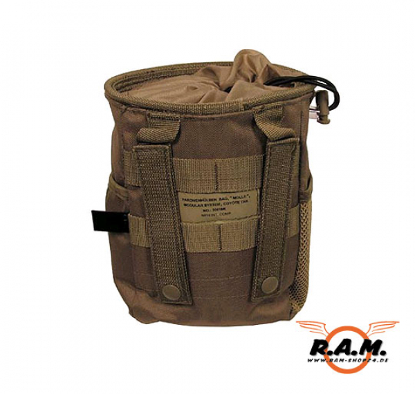 """MOLLE"" Dump Pouch klein, Modular System, coyote tan"