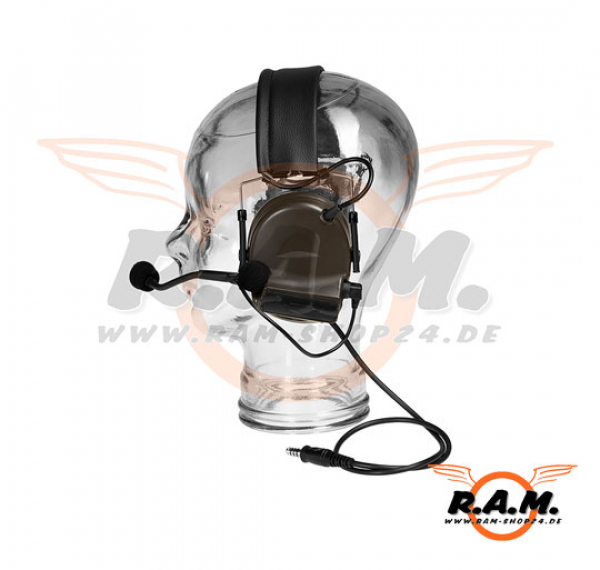 zComtac II Headset Military Standard Plug (Z-Tactical), FOL