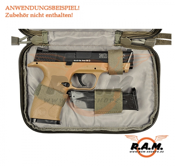 Single Pistol Case, Ranger Green von Emerson