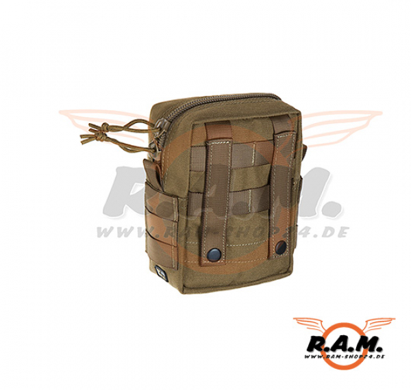 Molle Medium Utility  Pouch, Coyote Brown