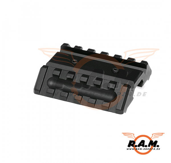 Metal Dual Offset Rail Interface Mount BLK (Element)