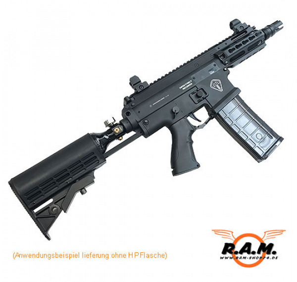 MAXTACT TGR2 CQB MK2 Keymod cal. 0.68 Paintball Markierer (Cerakote Black), inkl Red Bolt 2018er Version