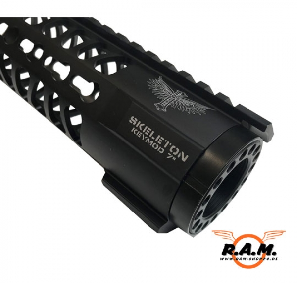 "SOLIDCORE SKELETON 7"" KEYMOD RIS Ultra light **PREMIUM**"