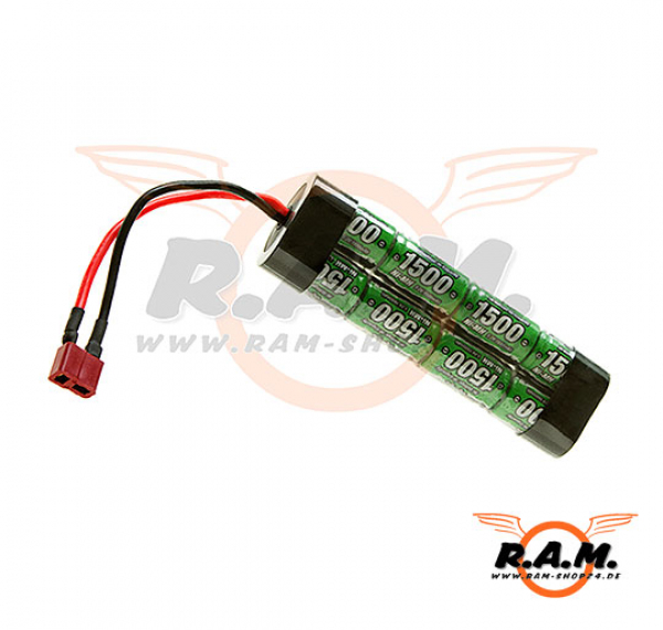 9.6V 1500mAh Mini Type T-Plug