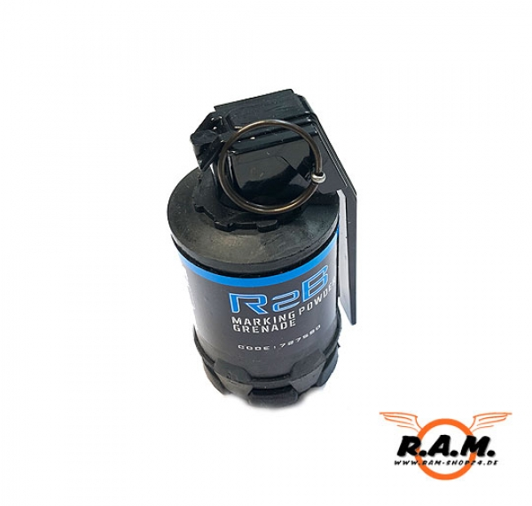 Taginn R2B Paintball / Airsoft Puder Handgranate