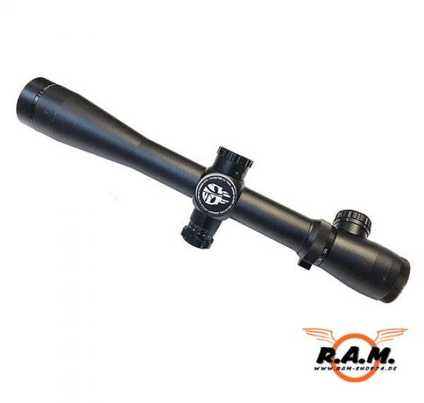 SOLIDCORE SNIPER SCOPE ULTIMATE 3,5-10x40 inkl. Beleuchtung & Montage