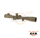 8-32 x 56 E-SF Sniper Rifle Scope Dark Earth