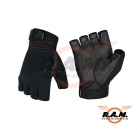 Invader Gear - All Weather Half Finger Shooting Handschuhe, schwarz