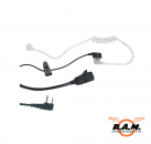 MA 31L, Security Headset m.Vox/PTT Umsch 90 Grad Stecker (L-Type)