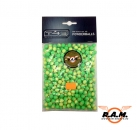 RAM Battle Dust Powder Balls, Powderballs weiss Kaliber 0.43